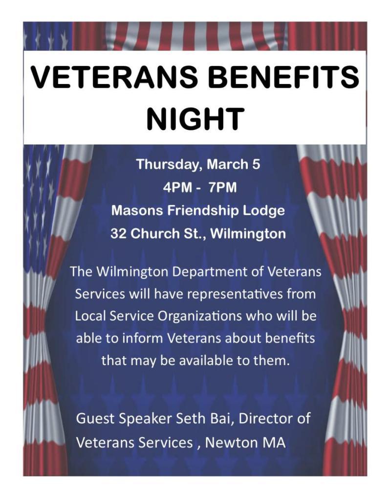 Veterans Benefits Night