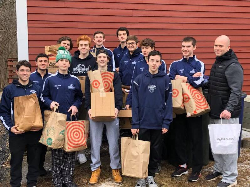 Wilmington Boys Basketball Food Pantry