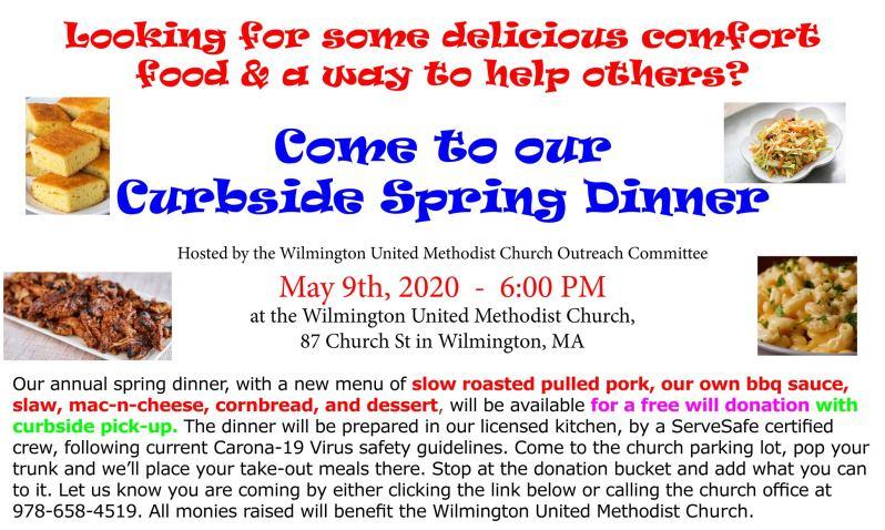 Curbside Spring Dinner