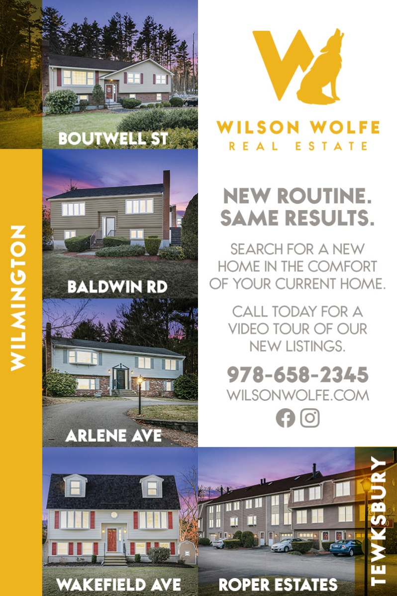 Wilson Wolfe Real Estate Ad