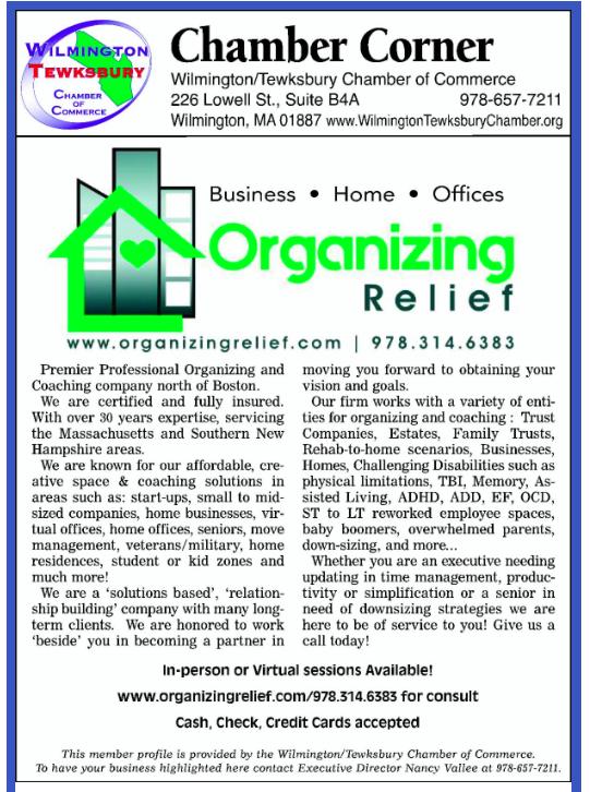 Organizing Relief