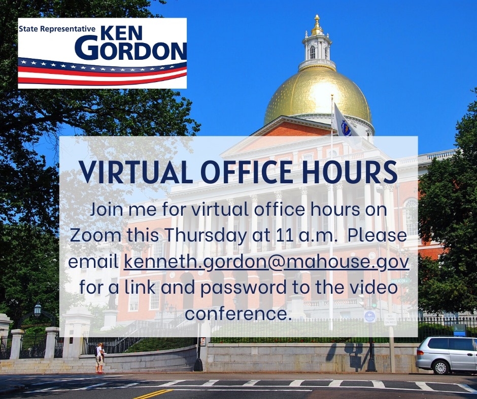 Ken Gordon Virtual Hours