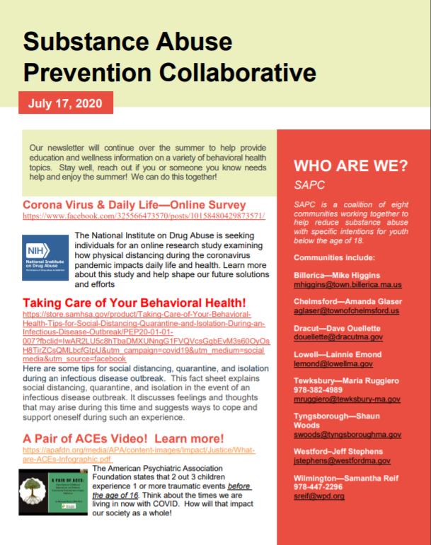 SAPC Newsletter 1
