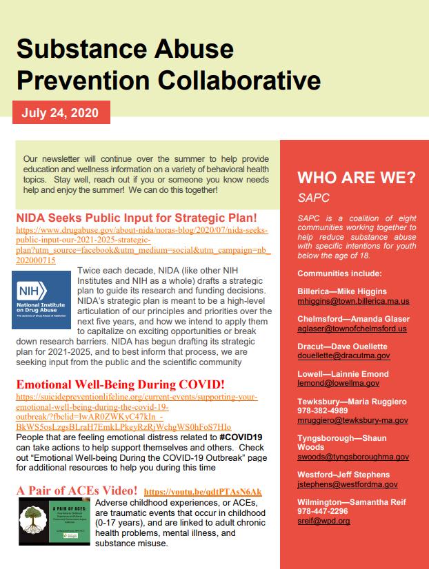 SAPC Newsletter