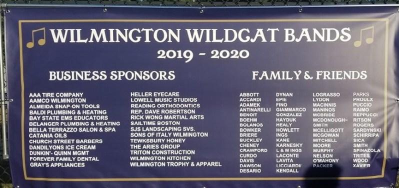 Wilmington Wildcat Band Banner