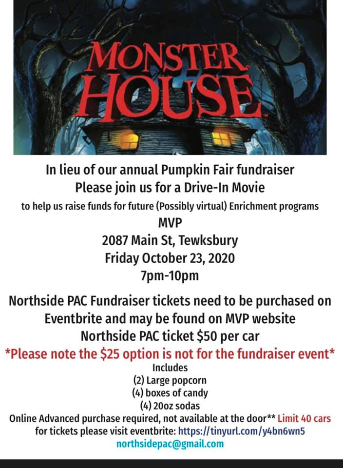 Northside PAC Movie MVP Fundraiser