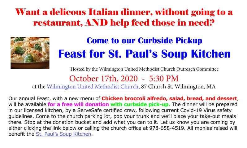 Wilmington United Methodist Church Fundraiser
