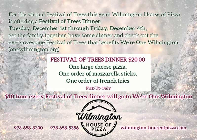 Festival of Trees Wilmington House of Pizza