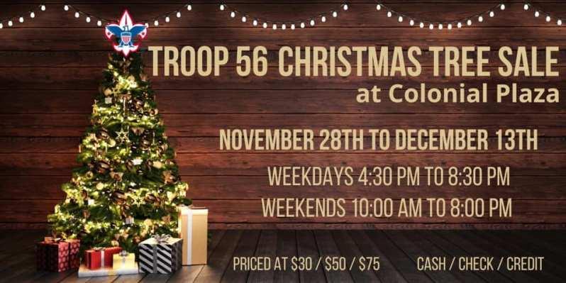 Troop 56 Christmas Trees