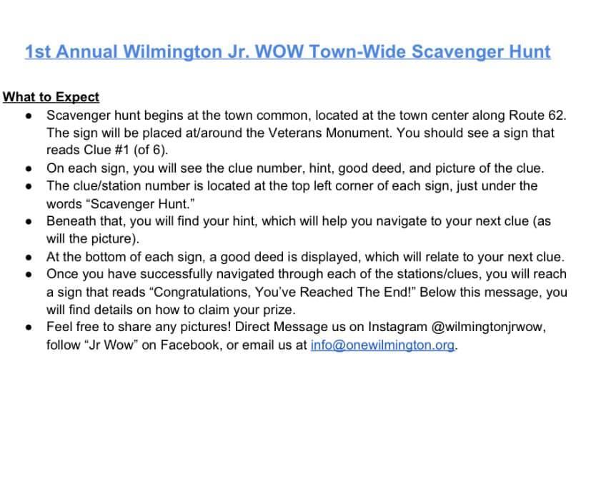 WOW Scavenger Hunt #2