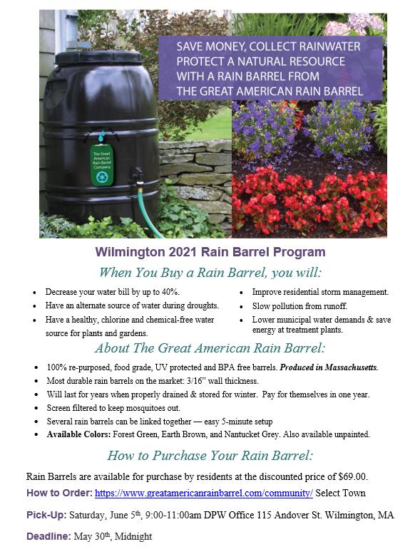 Rain Barrel Program
