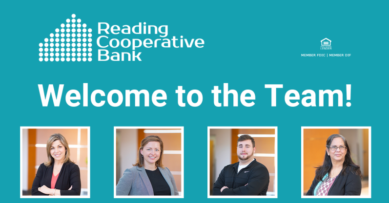 Reading Cooperative Bank New Hires