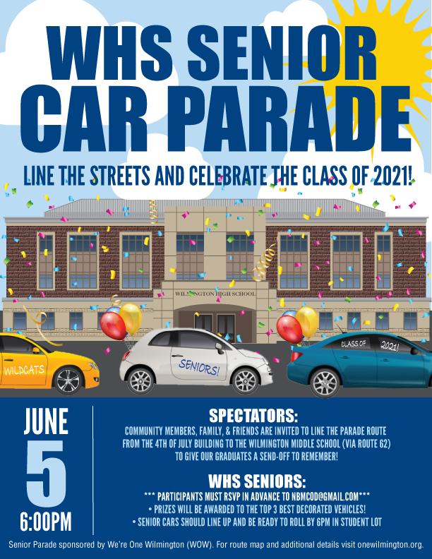 WHS Senior Car Parade