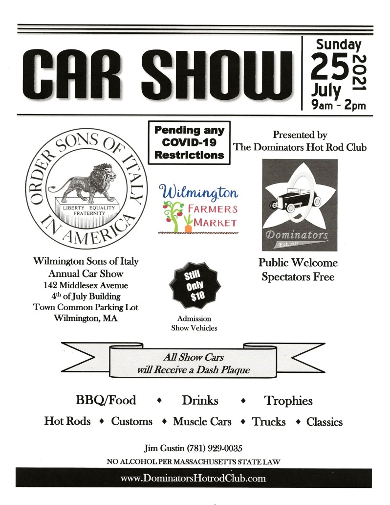 Car Show Sons of Italy