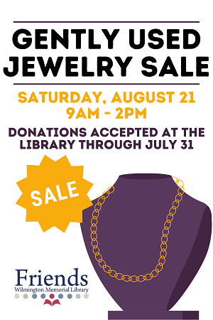 Gently Used Jewelry Sale Fundraiser