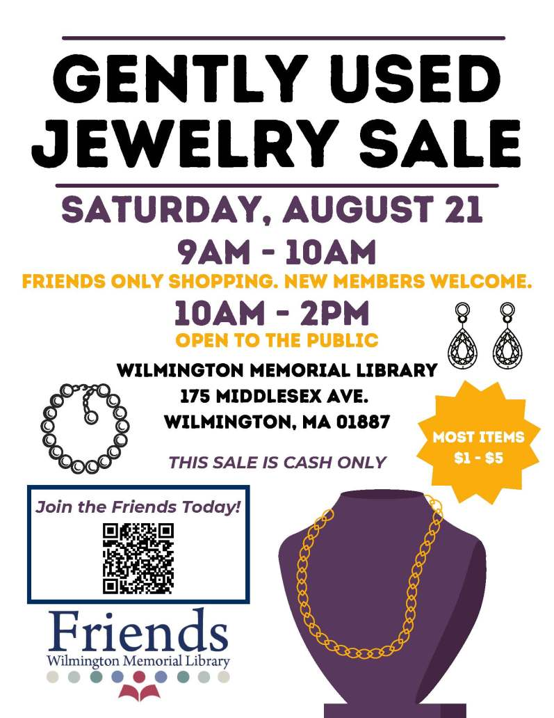 Gently Used Jewelery poster with address (1)