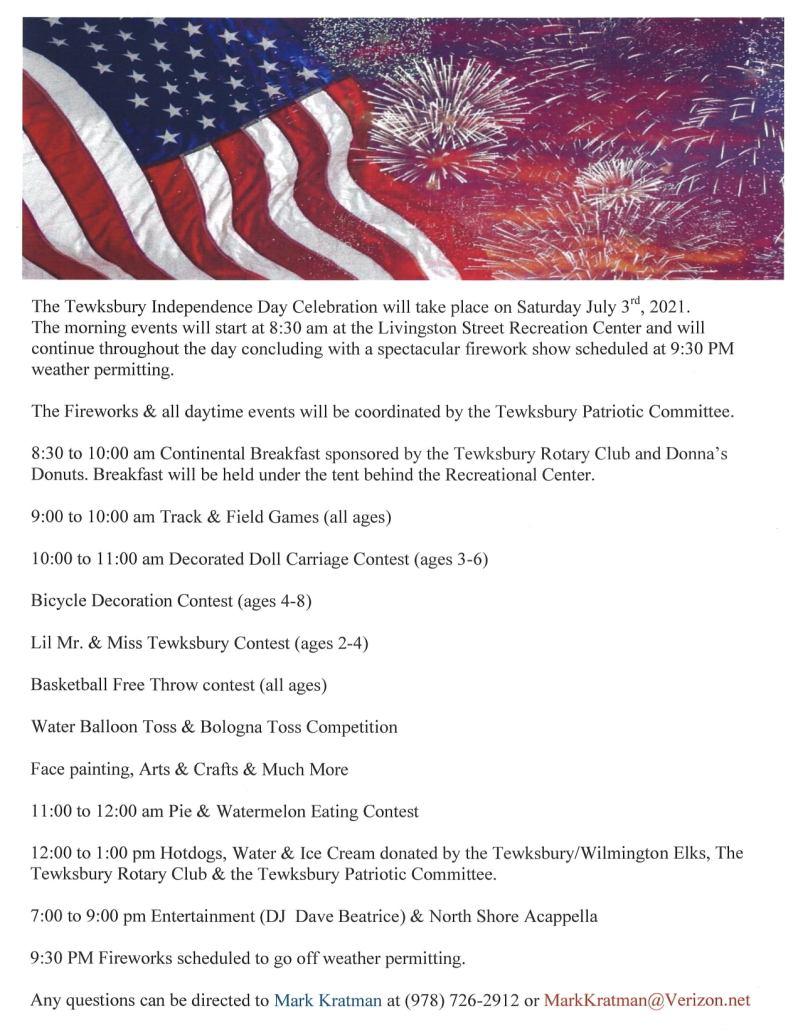 Tewksbury Fourth of July