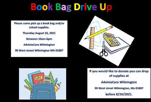 Book Bag Drive Up