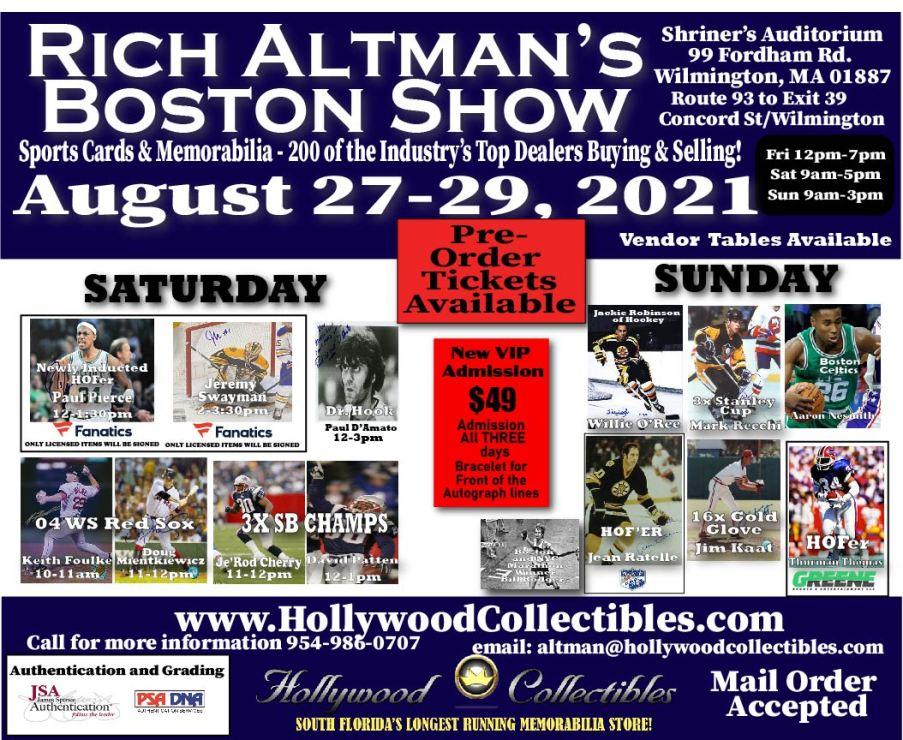 Rich Altman's Boston Show