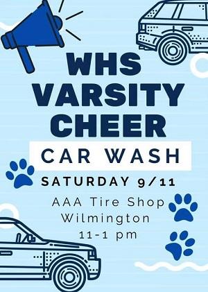 Cheerleaders Car Wash